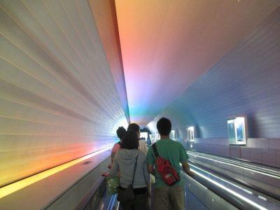 九州国立博物館アクセストンネル1