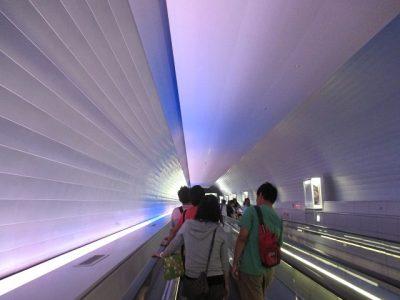 九州国立博物館アクセストンネル2