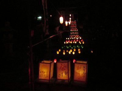 天拝山観月会