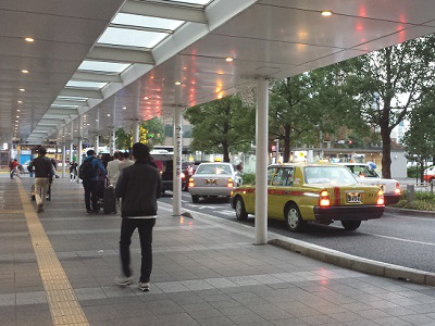 博多駅博多口タクシー乗り場