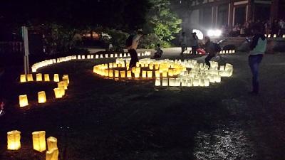 東長寺の灯明ウォッチング1