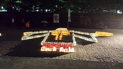 東長寺の灯明ウォッチング4
