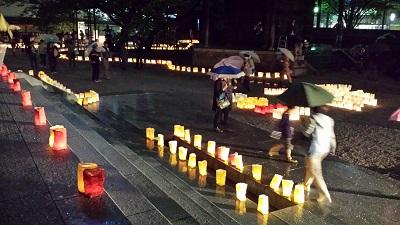 東長寺の灯明ウォッチング3