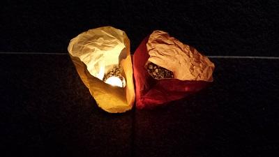東長寺の灯明ウォッチング6