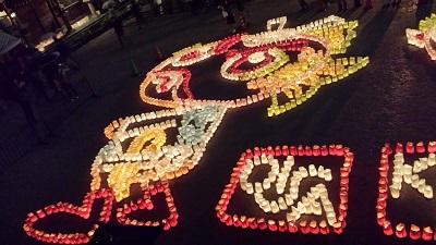 櫛田神社の灯明ウォッチング2