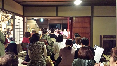 筑前琵琶の演奏会1