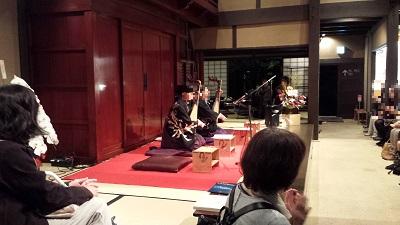 筑前琵琶の演奏会2