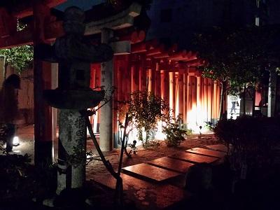 博多ライトアップウォーク櫛田神社