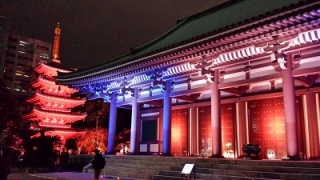 博多ライトアップウォーク東長寺
