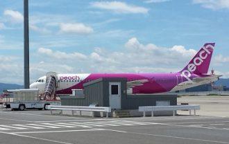 福岡から大阪へ飛行機