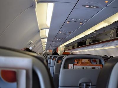 福岡空港から大阪への飛行機
