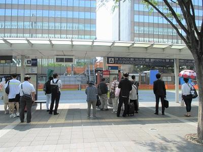 博多駅から天神へ行ける博多駅前Aのりば