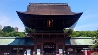 筥崎宮初詣
