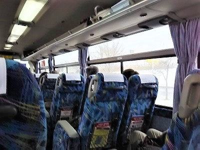 新千歳空港からすすきのまでリムジンバス