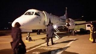 札幌から函館まで飛行機