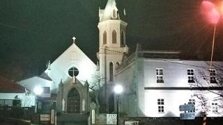 函館山ロープウェイと教会ライトアップ