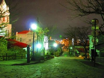 元町教会ライトアップ散策