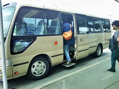 柳川川下り無料シャトルバス