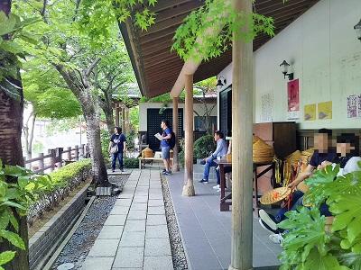 柳川川下り乗船場