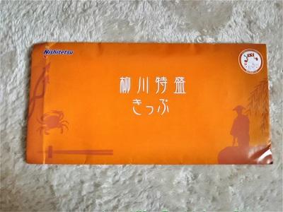 柳川特盛きっぷ