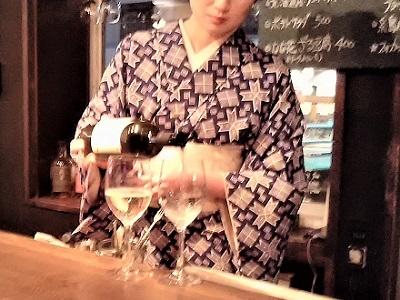 天神の古民家ワインバーユメキチワイン