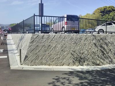 武雄神社の駐車場