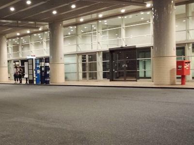ヒルトン福岡シーホークバス乗り場
