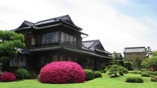 旧伊藤伝右衛門邸と庭園