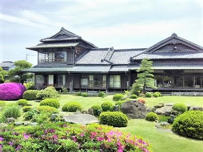 旧伊藤伝右衛門邸の庭園
