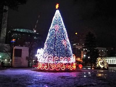 さっぽろイルミネーションクリスマスツリー
