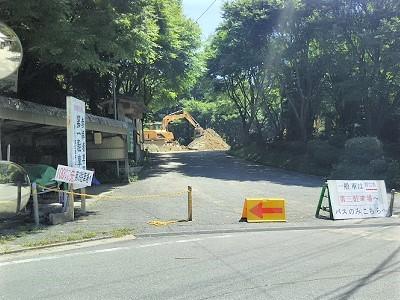 糸島の雷山千如寺大悲王院の駐車場1