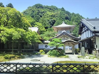 糸島の雷山千如寺大悲王院の庭園