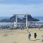 糸島 二見ヶ浦の夫婦岩