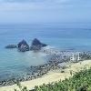 糸島の二見ヶ浦の展望台