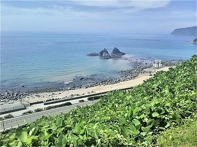 糸島の二見ヶ浦の写真スポット