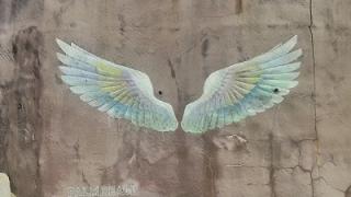 糸島の天使の羽の壁画アートの場所と行き方
