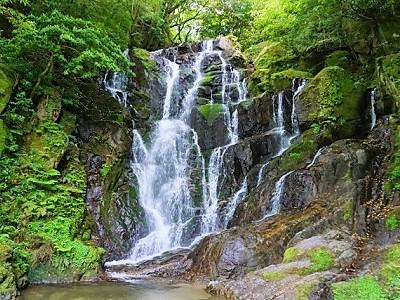 糸島の白糸の滝