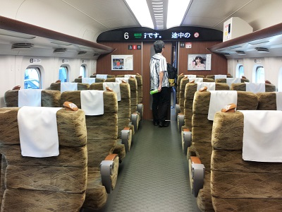 博多から広島 新幹線みずほ
