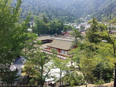 千畳閣(豊国神社)からの厳島神社