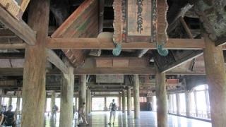 宮島日帰り観光モデルコースのの千畳閣(豊国神社)