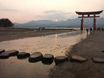 厳島神社は満潮と干潮どっちがおすすめ