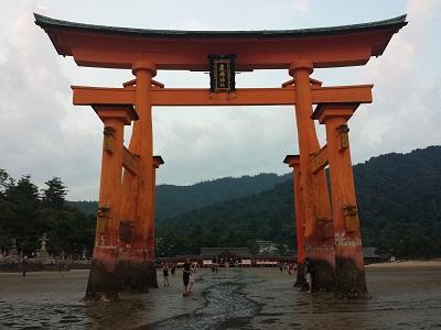 厳島神社は満潮と干潮どっちがおすすめ?