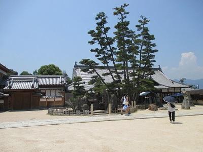 宮島日帰り観光モデルコースのの大願寺と厳島弁財天の見どころと時間と料金