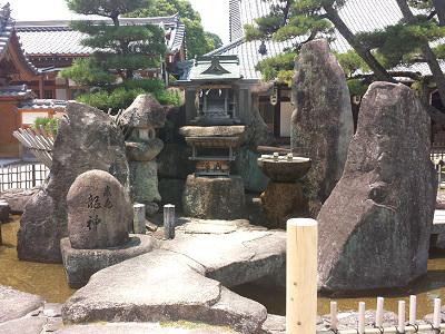 宮島の大願寺の龍神