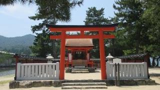 宮島日帰り観光モデルコースの清盛神社