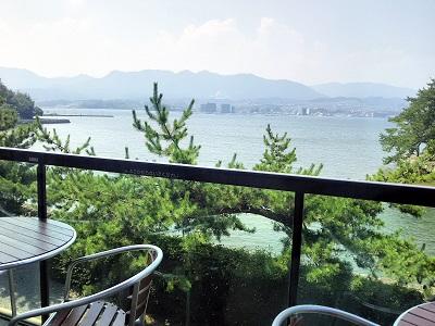 宮島水族館のレストラン みやじマリンキッチン