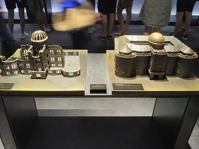 広島平和記念資料館の展示