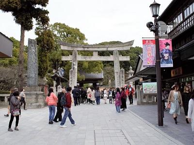 太宰府駅から太宰府天満宮の行き方