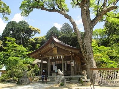 太宰府駅からかまど神社までの行き方
