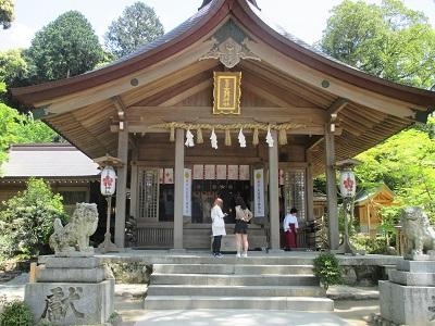 太宰府のパワースポット竈門神社